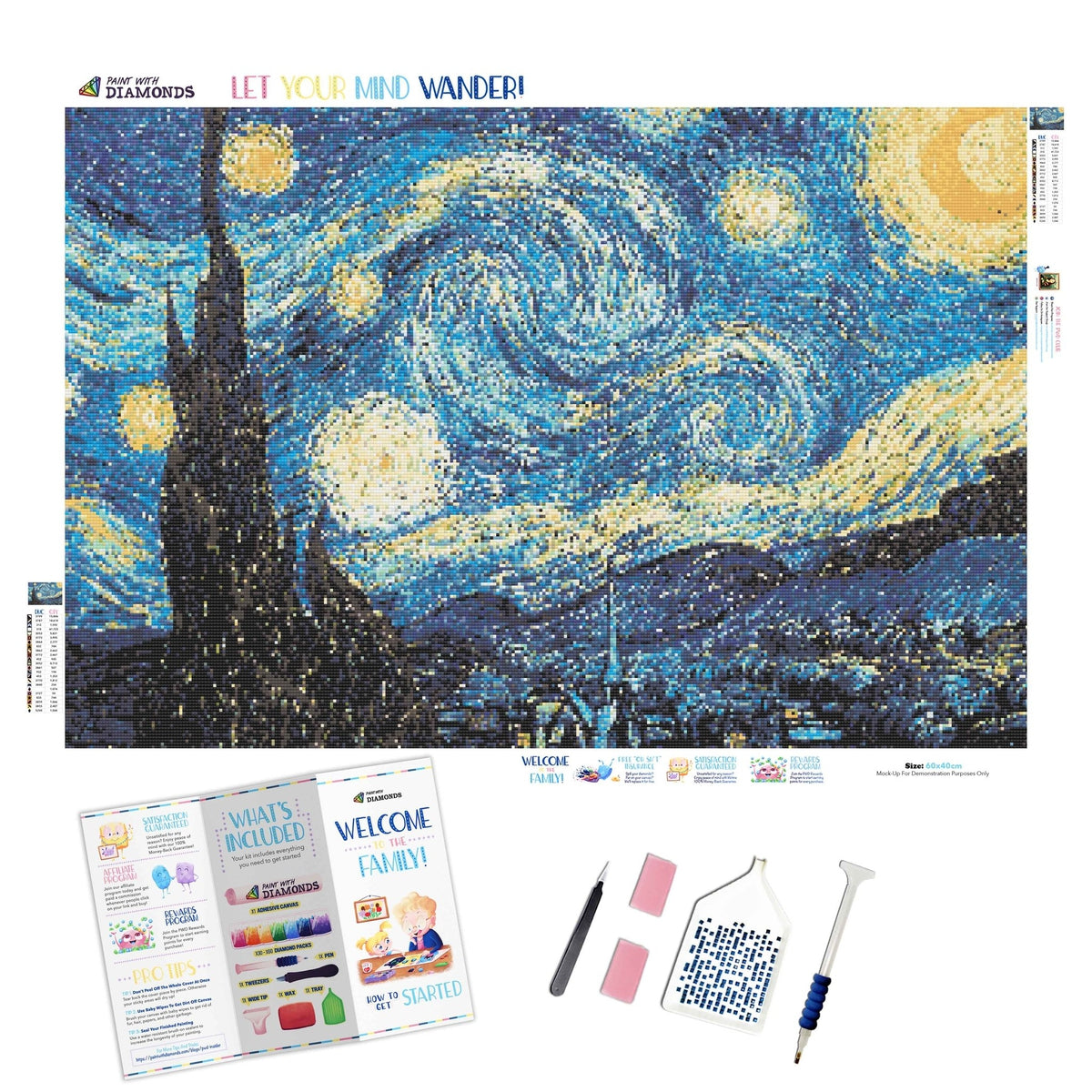 Starry Night - Ships From US