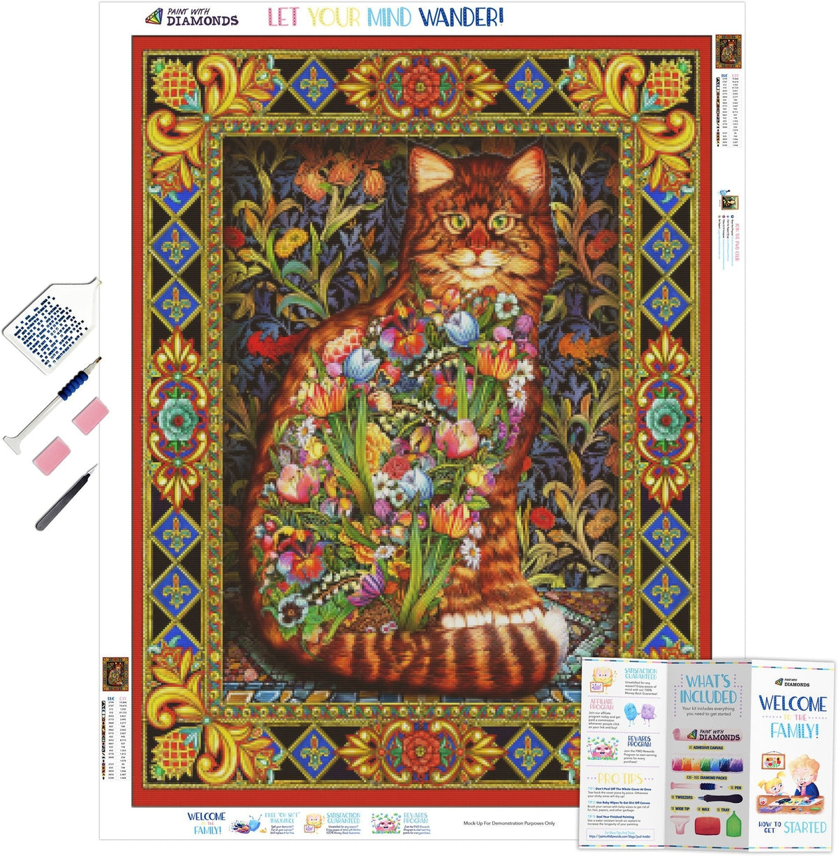 Tapestry Cat