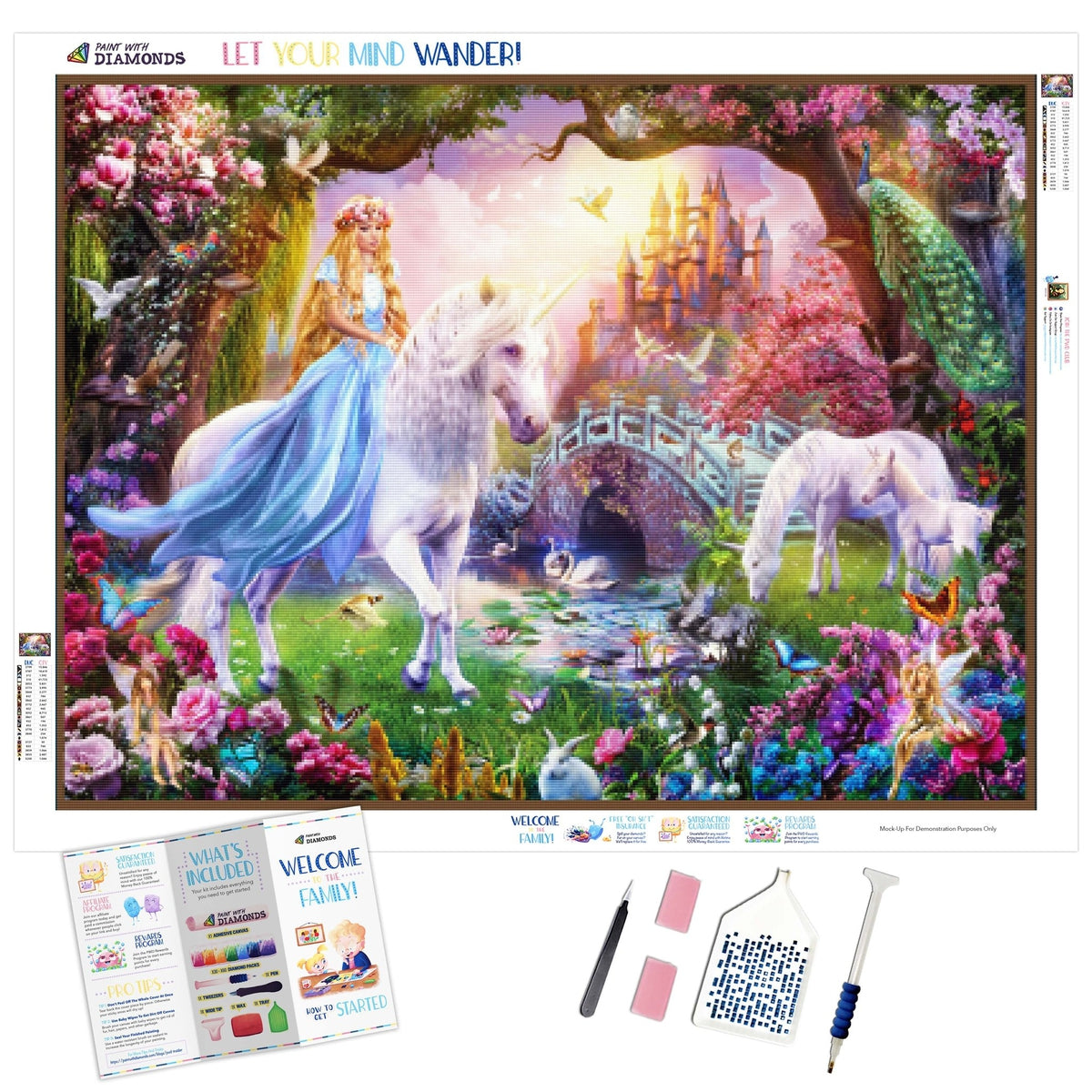 Unicorn Princess Garden