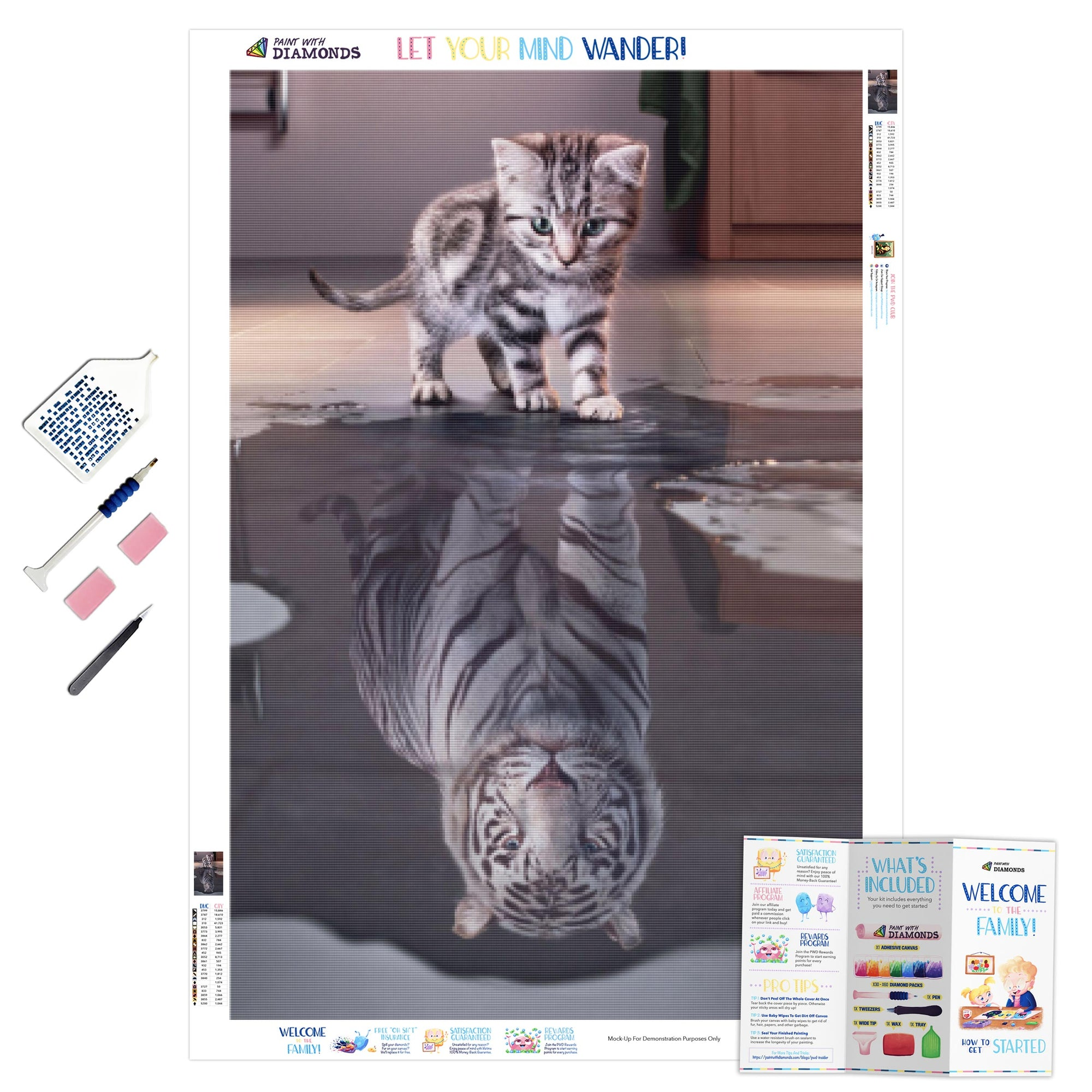 White Tiger Kitty