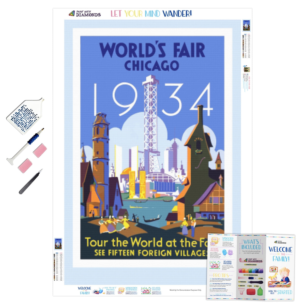 World's Fair Vintage Poster