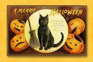 A Merry Halloween August 2018 BFCM Cat Fall Sale Halloween