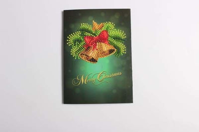 Christmas Diamond Painting Kit - Assorted Christmas Cards - 4x Pack-4x Pack- - Paint With Diamonds