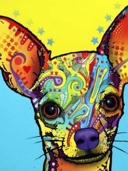 Dog Diamond Painting Kit - Chihuahua I- - Paint With Diamonds
