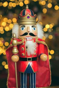 Christmas Diamond Painting Kit - Christmas Nutcracker-Square 20x30cm- - Paint With Diamonds