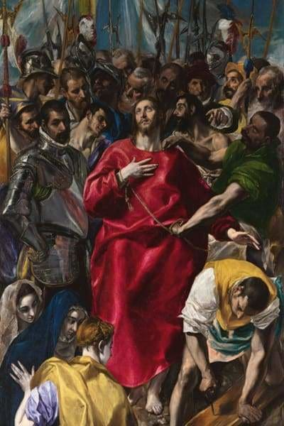 Religious Diamond Painting Kit - El Greco-Square 20x30cm- - Paint With Diamonds