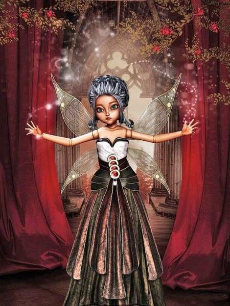 Fantasy Diamond Painting Kit - Enchanted Doll-Square 15x20cm- - Paint With Diamonds