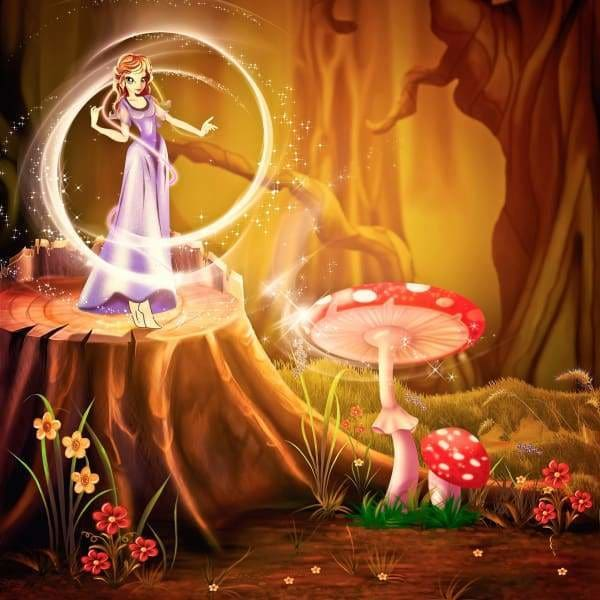 Fairytale Forest BFCM Fairy Fall Sale Fantasy Flower