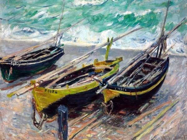 Boat Diamond Painting Kit - Fishing Boats-Square 15x20cm- - Paint With Diamonds