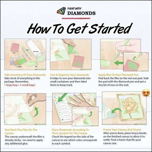 Dog Diamond Painting Kit - Greyhound- - Paint With Diamonds