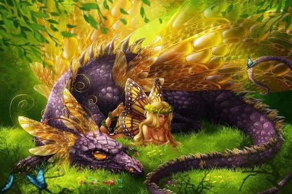 Heroes Of Magic Dragon Fairy Fall Sale Fantasy March 2019