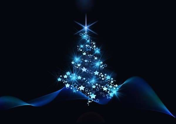 Tree Diamond Painting Kit - Illuminated Christmas Tree-Square 20x30cm- - Paint With Diamonds