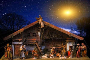 Nativity Scene August 2018 BFCM Christmas Fall Sale Religious