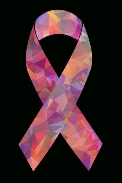 Causes Diamond Painting Kit - Patterned Cancer Ribbon- - Paint With Diamonds
