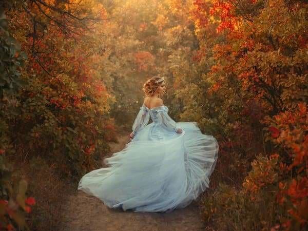 Fantasy Diamond Painting Kit - Princess In The Forest-Square 15x20cm- - Paint With Diamonds