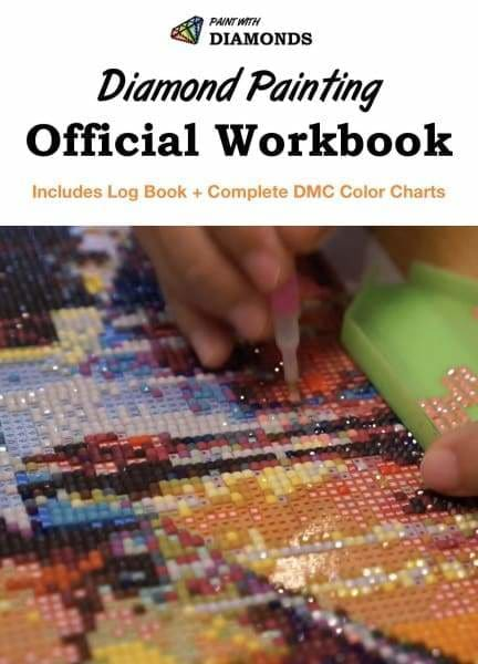 PWD Diamond Painting Log Book with DMC Charts [EBOOK] Workbook