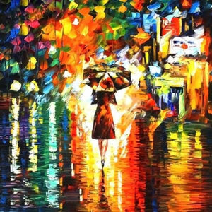Love Diamond Painting Kit - Rain Princess-Square 20x20cm- - Paint With Diamonds