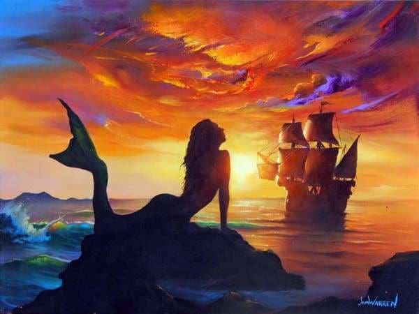 Sunset Diamond Painting Kit - The Great Discovery-Square 15x20cm- - Paint With Diamonds