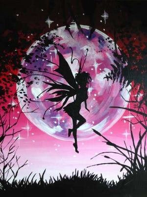Nature Diamond Painting Kit - Tinkerbell-Square 15x20cm- - Paint With Diamonds