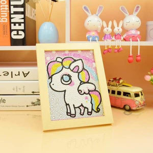 White Rainbow Pony Crystal Diamond Beginner Kit Beginner Crystal Fall Sale Kids