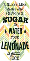 Quote Diamond Painting Kit - Your Lemonade Is Gonna Suck-Square 40x20cm- - Paint With Diamonds