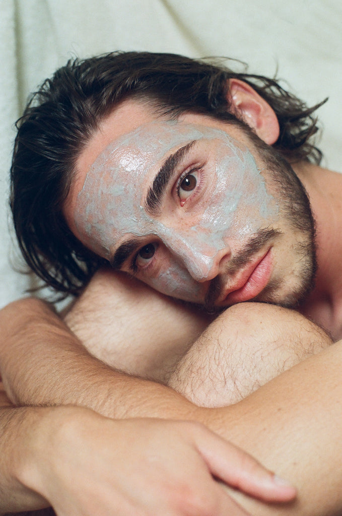 LESSE natural skincare charcoal bioactive face mask masque garrett coombes tiana petrullo