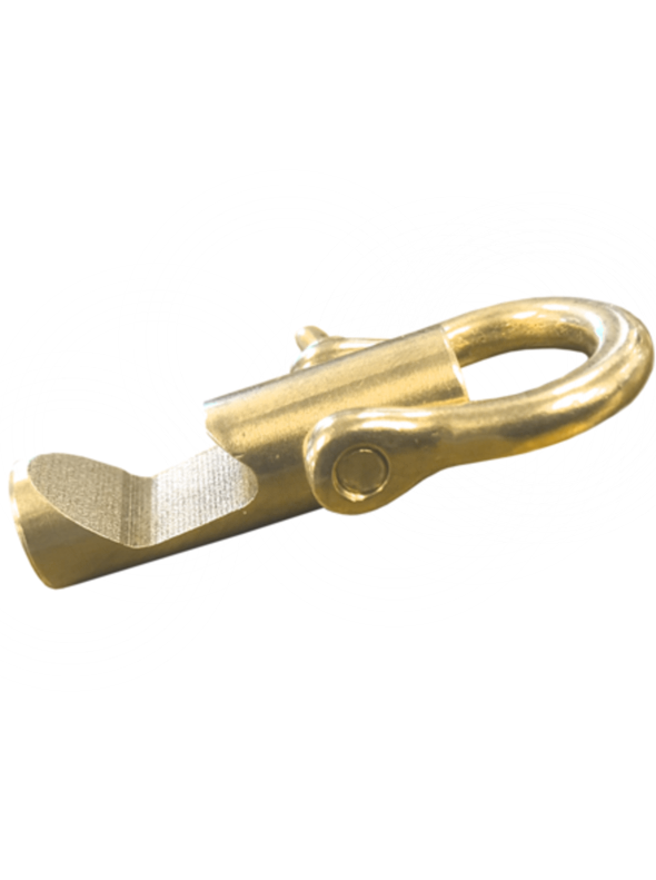 Bow-Shackle Bottle Opener