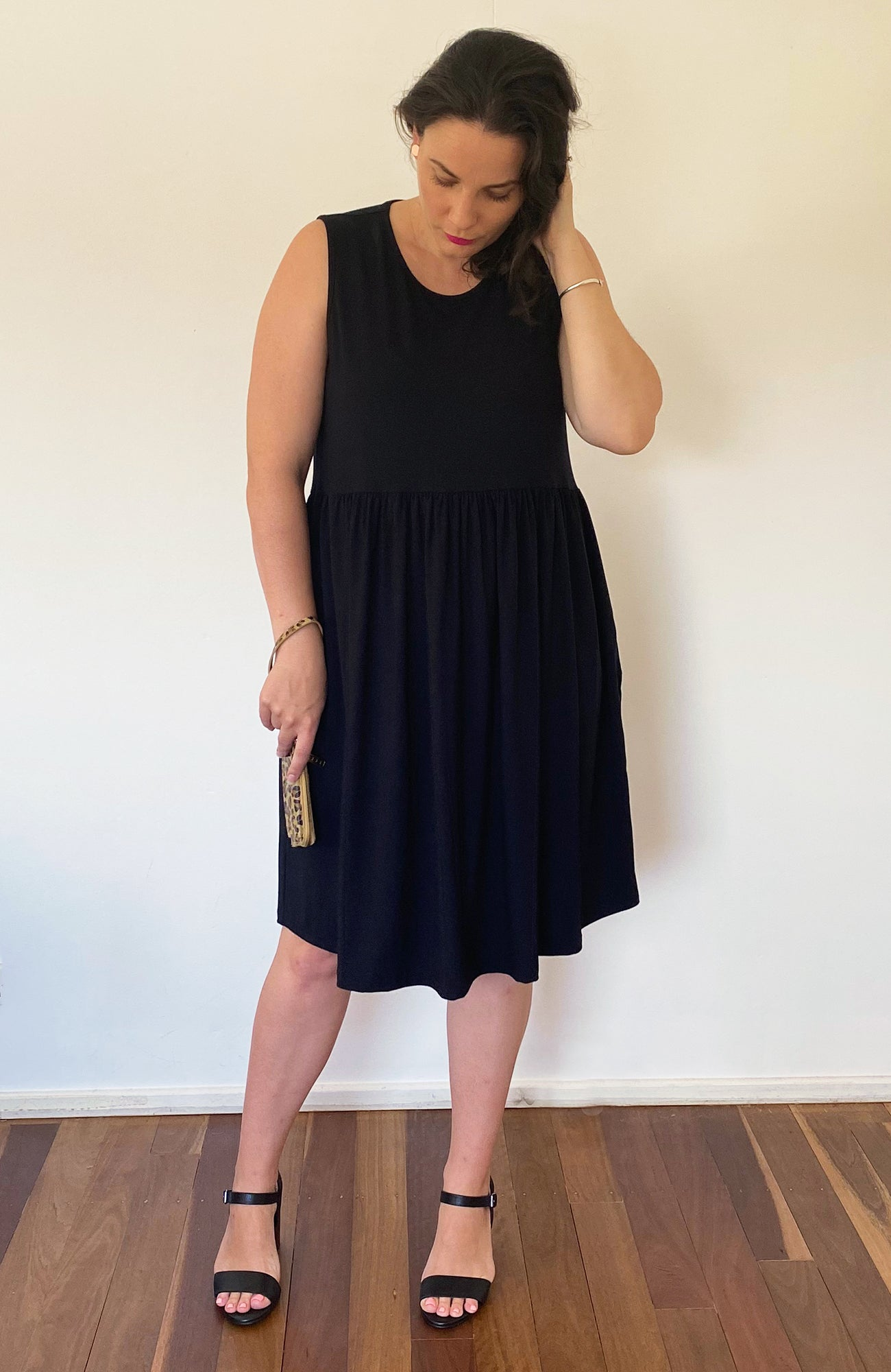 Be Happy Dress in Black