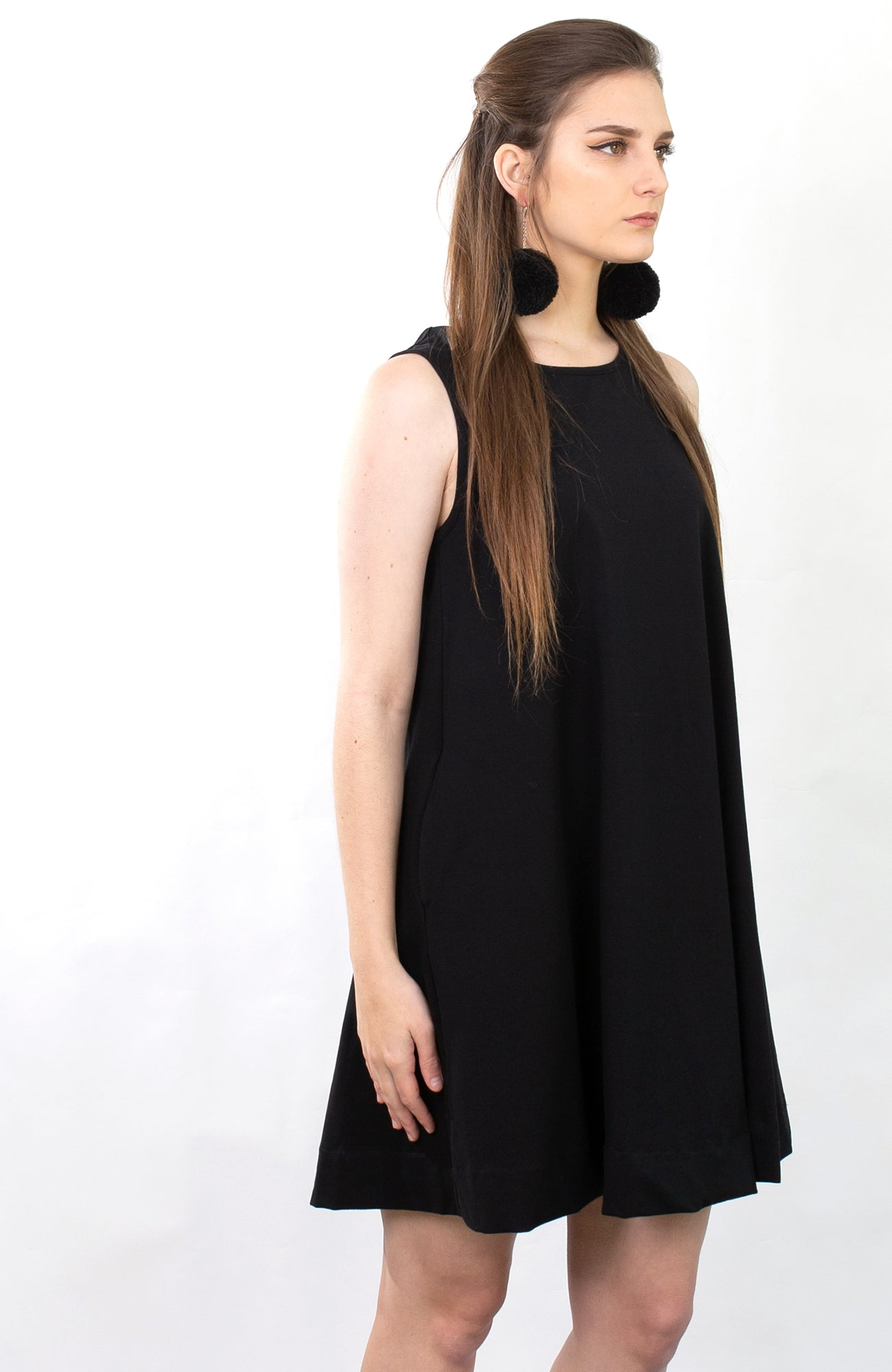 inBLACK. x Obiq Black Pom Poms - inBLACK. The Label | Women's Black Dresses