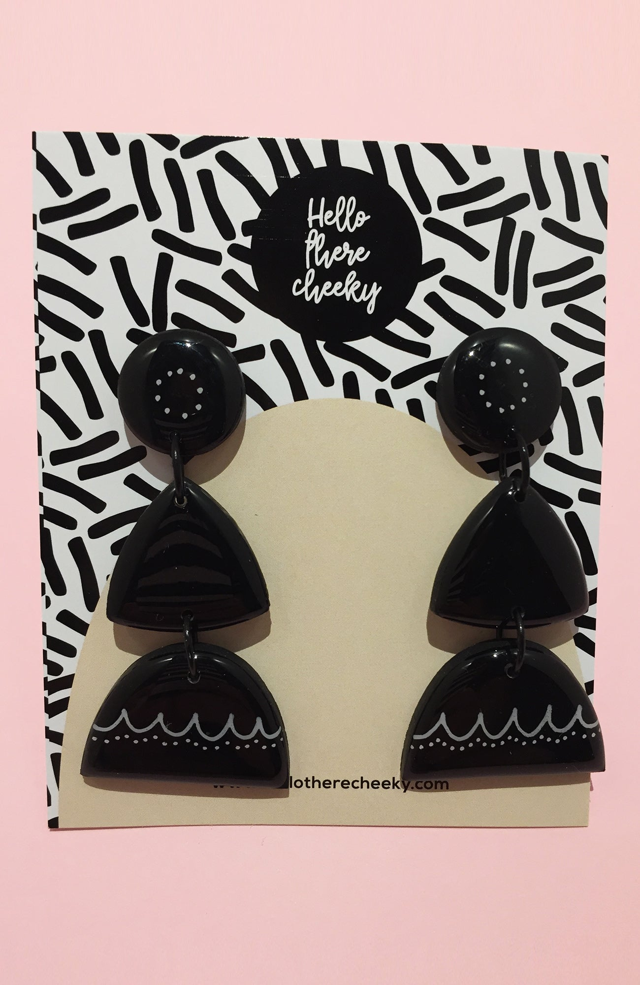 inBLACK. x Hello There Cheeky Black Dangles #2 - inBLACK. The Label | Women's Black Dresses