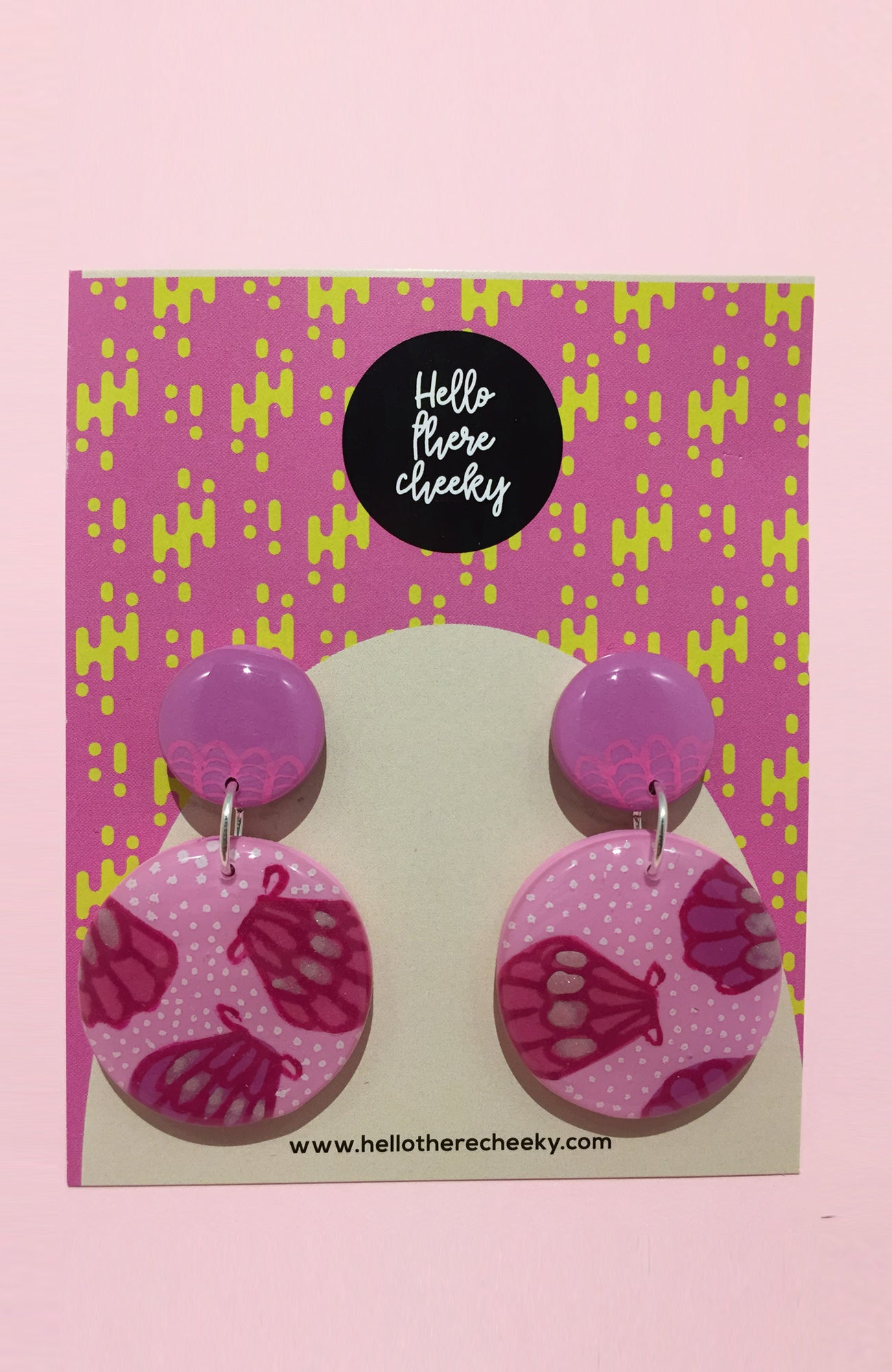 inBLACK. x Hello There Cheeky Pink Dangles #4 - inBLACK. The Label | Women's Black Dresses