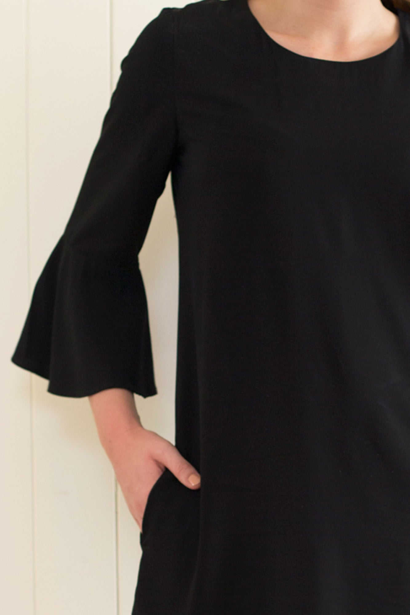 Take a Risk Dress in Black - inBLACK. The Label | Women's Black Dresses