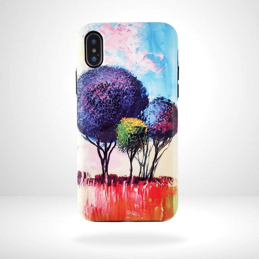 iPhone Case Colorful Trees