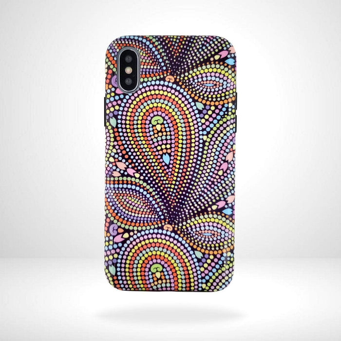 iPhone Case Paisley Dots
