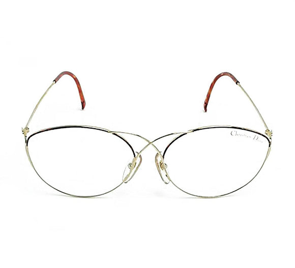 Christian Dior Eyeglasses 2313 Col 41 59-16-130 Made in Austria - Eyeqglass