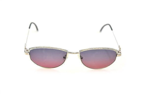Tiffany Lunettes Sunglasses T789 C.10 23K Gold Plated 56-18-135 Made in Italy - Eyeqglass