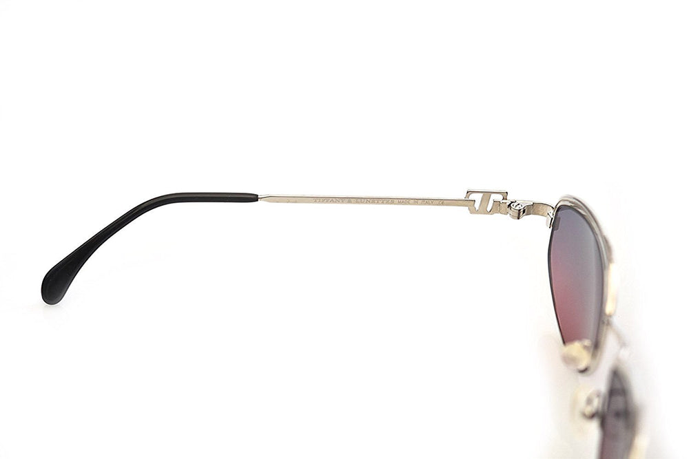 Tiffany Lunettes Sunglasses T789 C.10 23K Gold Plated 56-18-135 Made in Italy