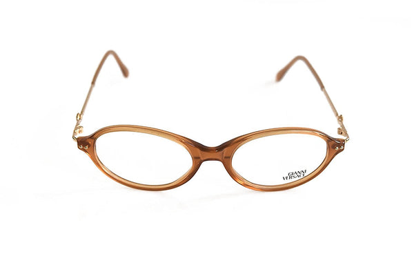 Gianni Versace Eyeglasses Mod. V30 Col. A38 Light Brown 50-18-135 Made in Italy - Eyeqglass