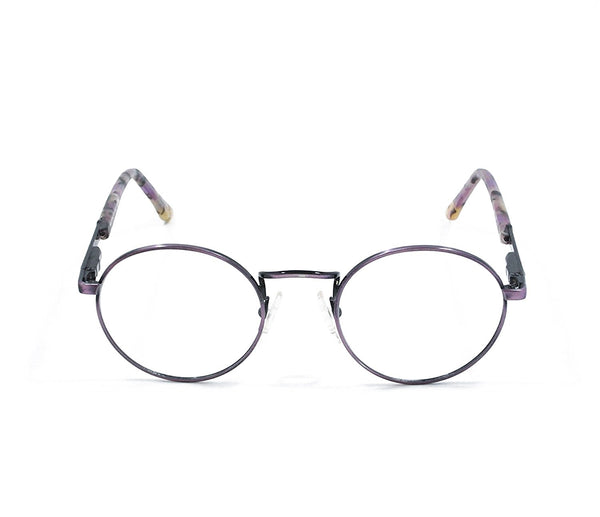 Blue Bay Eyeglasses Purple Temple Mod. Nantucket Col. 19 Size. 47-20-135