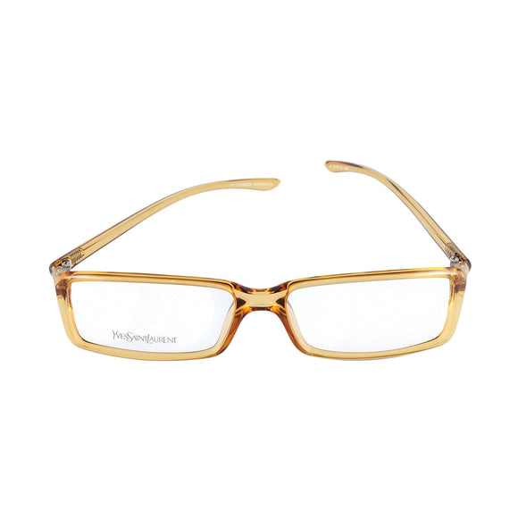 Yves Saint Laurent Eyeglasses YSL 2101 8J4 Champagne 52-15-130 Made in Italy - Eyeqglass