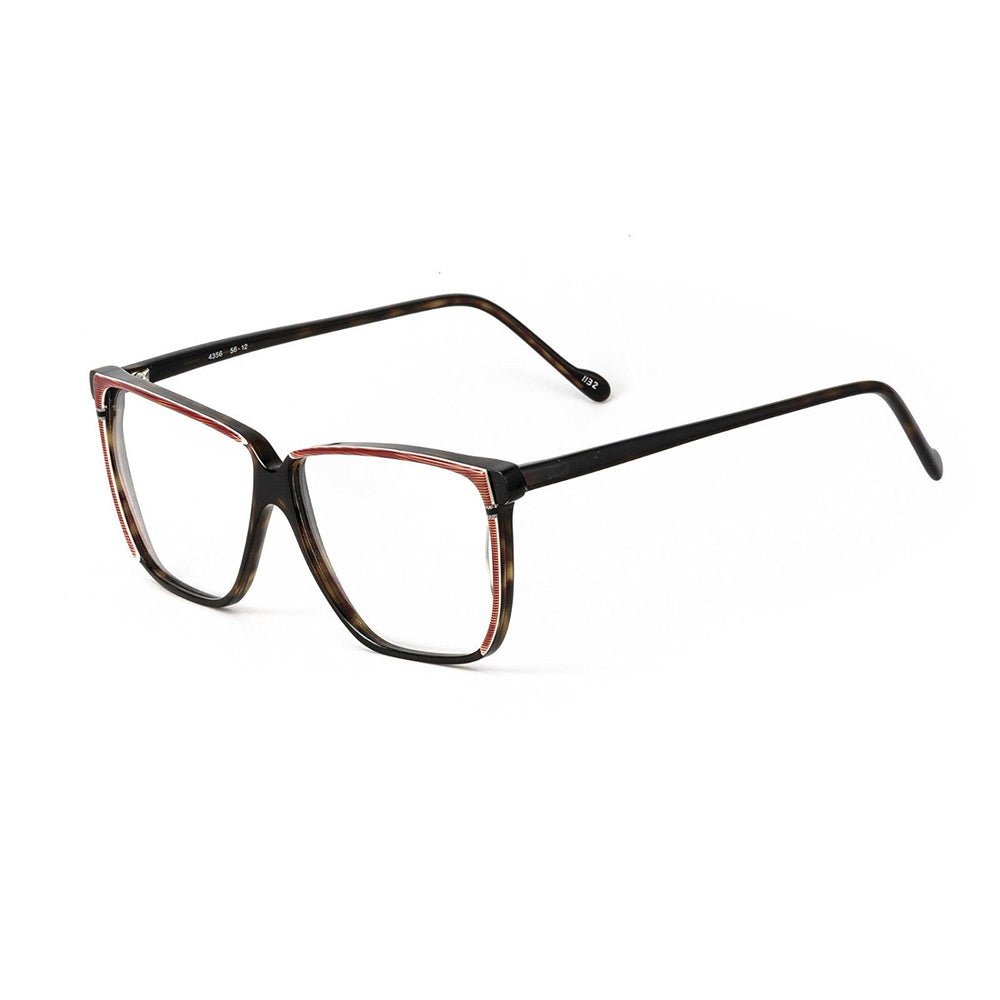 Sir Winston Eyeglasses 4356 Red Brown 1132 56-12 Made in Italy