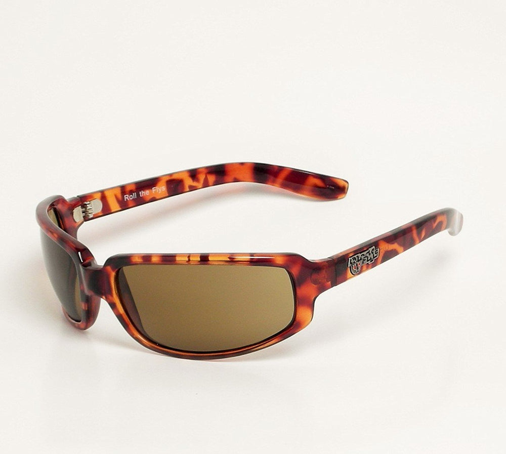 Black Flys Sunglasses Roll The Fly Lucky Fly Tortoise - Eyeqglass