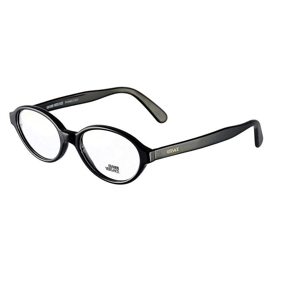 Gianni Versace Eyeglasses Mod. V54 Col. 784 Black 50-17 Made in Italy - Eyeqglass