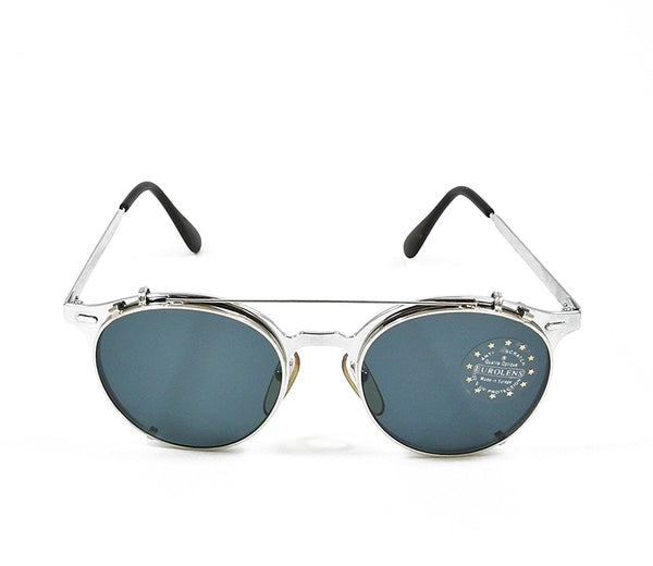 High Fashion Vintage Sunglasses Removable Lens 50-18-120 Made in France - Eyeqglass