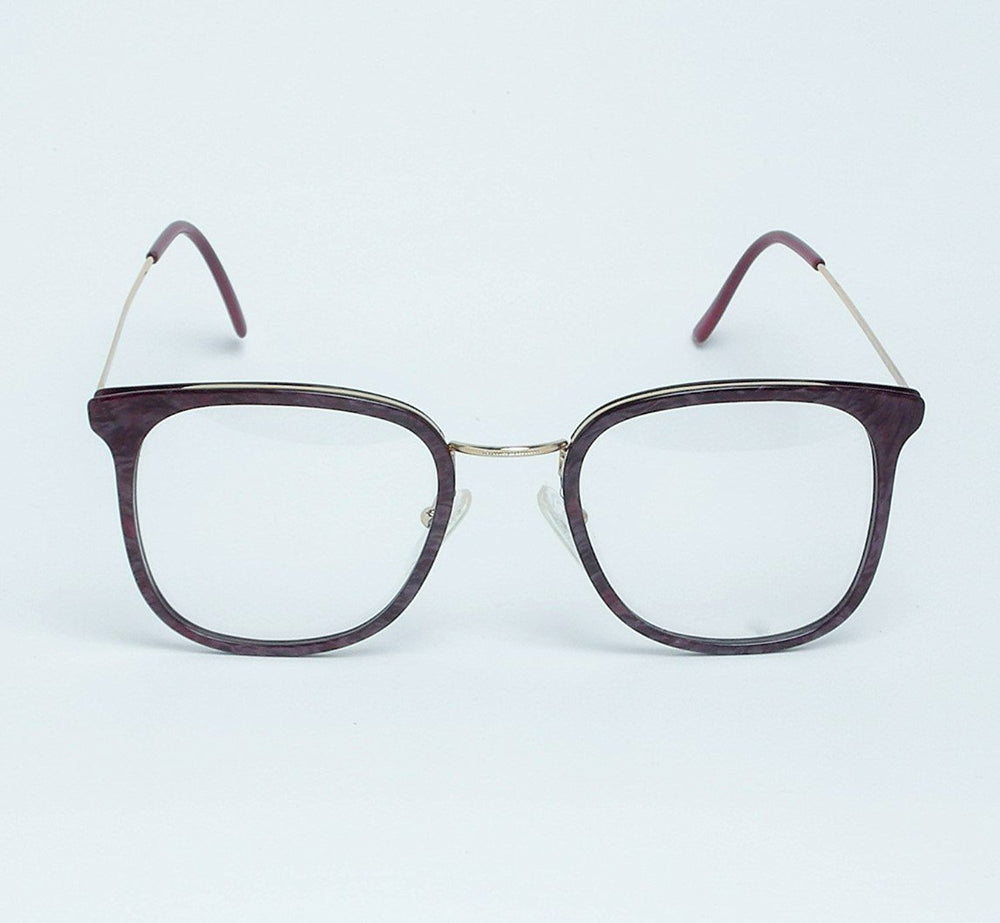 High Fashion Eyeglasses 5001 Col 10 Dark Purple 54-18 Made in Italy - Eyeqglass