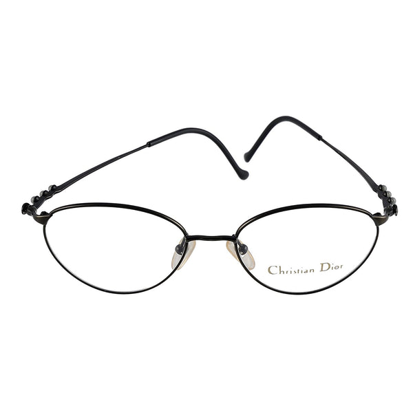 Christian Dior Eyeglasses CD 3531 90X Black 52-17-135 Made in Austria - Eyeqglass