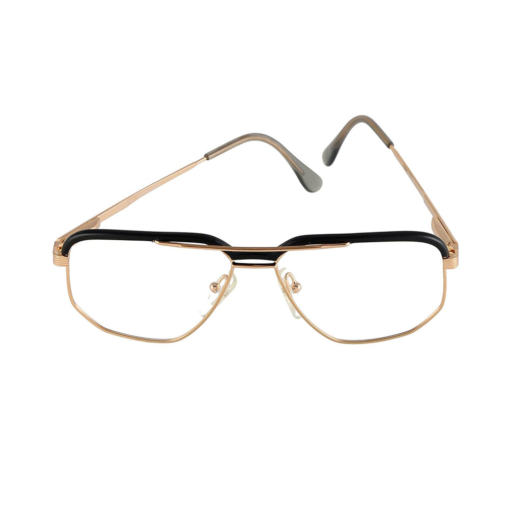 High Fashion Eyeglasses Mod. 1729 Gold 57-17 Made in Italy