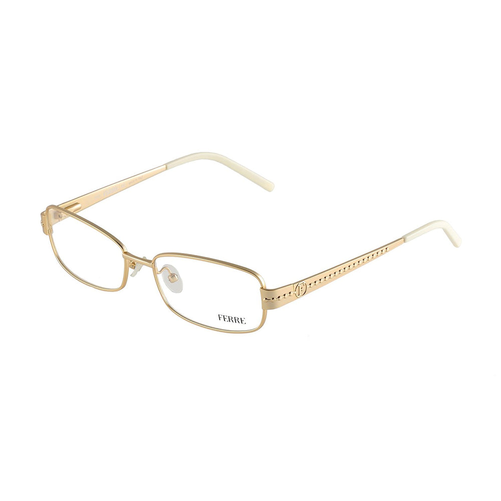 GianFranco Ferre Gold Eyeglasses GF 28603 Col. 07/07 53-16-130 Made in Italy