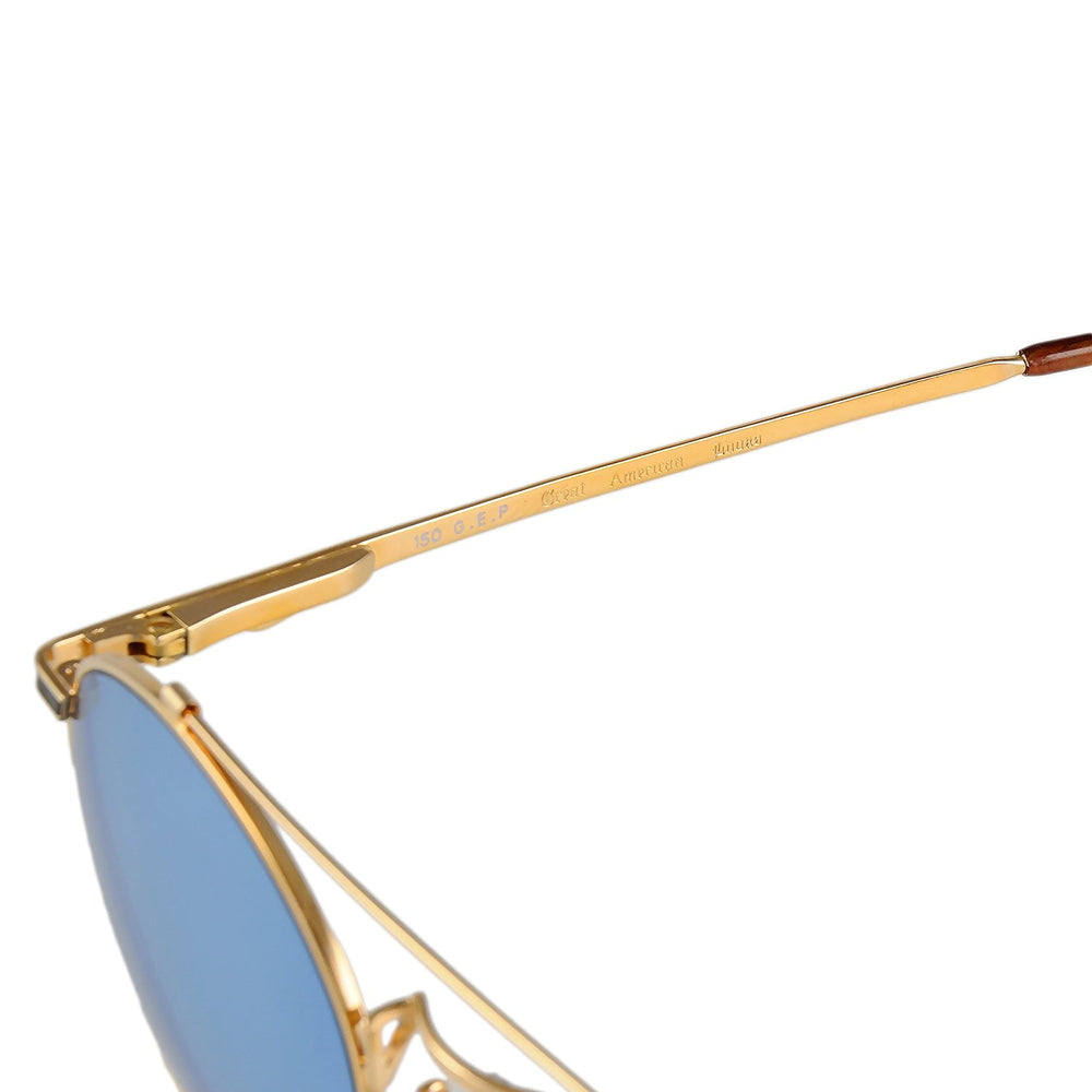 Great American Looks Sunglasses GAL015U Col. 800 Gold 52-20-150
