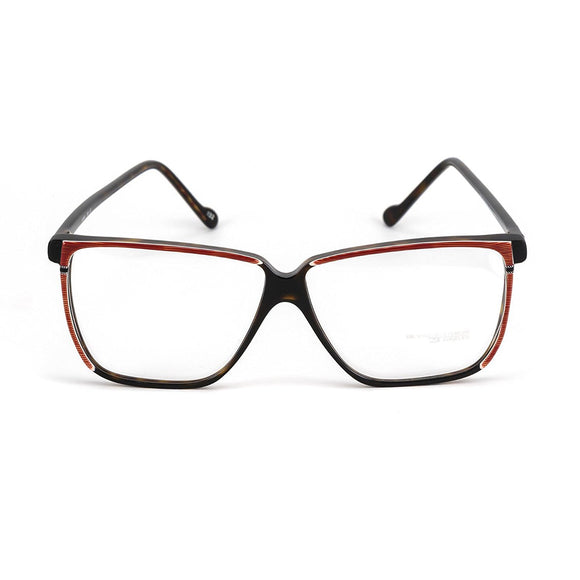 Sir Winston Eyeglasses 4356 Red Brown 1132 56-12 Made in Italy - Eyeqglass